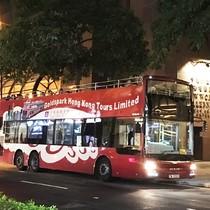 オープントップバス+ナイトマーケット女人街自由散策コース