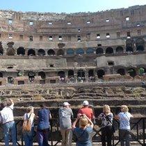 コロッセオ&真実の口へ入場!ローマ満喫午前市内観光
