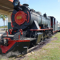 ボルネオ鉄道ー蒸気機関車で行く半日旅行(ステハーバーご宿泊者)