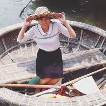 「一寸法師の気分?!おわんボートでクルーズ」トゥボン川ジャングルクルーズ(ホイアン発)