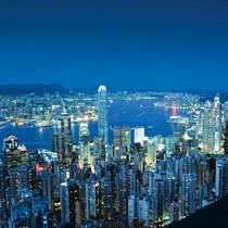 香港2大夜景観賞 ビクトリアピークと水上レストラン ジャンボキングダムでディナー付き