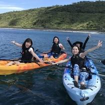 【沖縄・国頭村】やんばる国立公園に指定された沖縄本島北部の青い海でシーカヤック体験 by オクマナビ -OKUMA Navi-