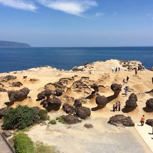 【早割り10%OFF!!!】基隆港、野柳、北海岸公園観光