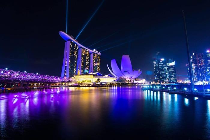 夕方発! シンガポール夜景ツアー