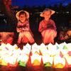 夜のホイアン散策 + 灯籠流し体験の写真