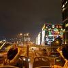 オープントップバスの写真
