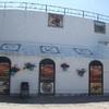 断崖絶壁の町ロンダのパラドール宿泊と白い...の写真