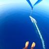 青の洞窟ボートシュノーケル + パラセー...の写真