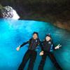 青の洞窟感動スノーケルツアーの写真