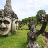 ビエンチャン市内観光&ブッダパークの写真