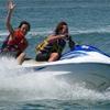 ハワイカイマウナルア湾沖を猛スピードで ...の写真