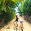 カイルアビーチへ!レンタサイクルで散策 ...の写真