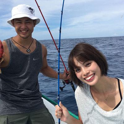 子供も楽しめる! 沖縄の海でトロピカルフ...の写真