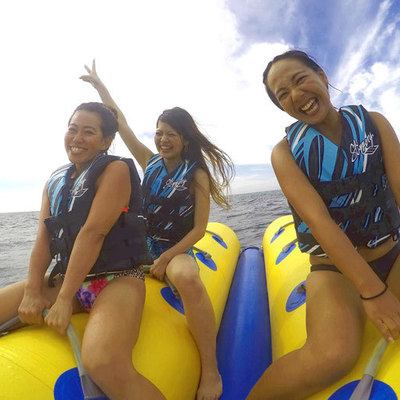 青の洞窟体験ダイビング! バナナボート付...の写真