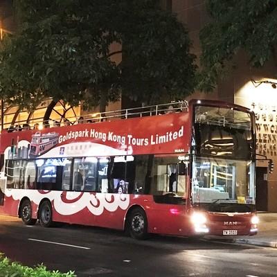オープントップバス + ナイトマーケット...の写真