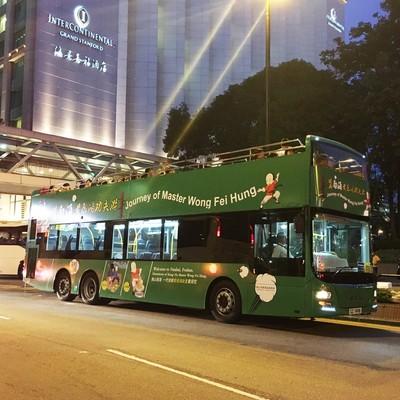 (ミールクーポン)オープントップバス+ナ...の写真