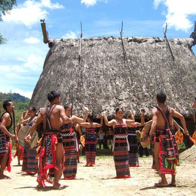 ベトナム中部少数民族カトゥー族の村見学ツ...の写真