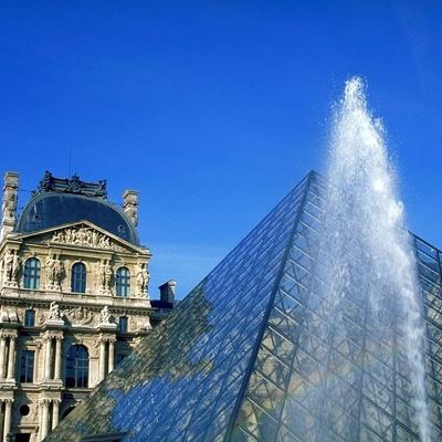 ルーブル美術館 午前観光の写真