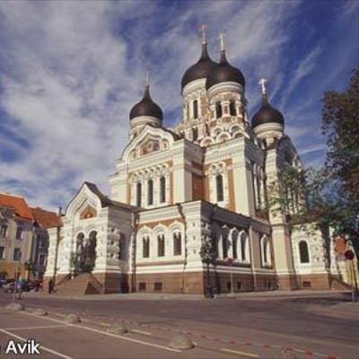 ヘルシンキからエストニアの首都・世界遺産...の写真