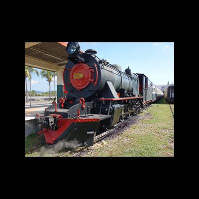 ボルネオ鉄道ー蒸気機関車で行く半日旅行の写真
