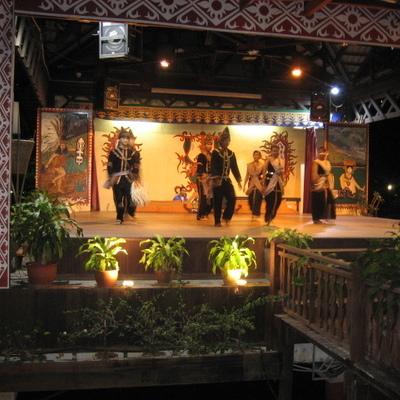 コタキナバル・ナイトツアーの写真