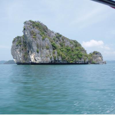 ランカウイ無人島巡りの写真