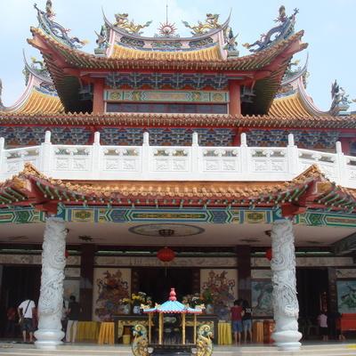 午前発! チャイナタウンとKL最古の中国...の写真