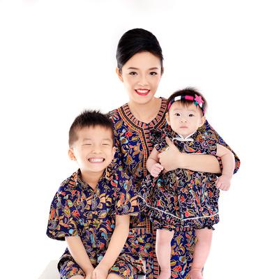 【体験】シンガポール民族衣装 変身写真の写真