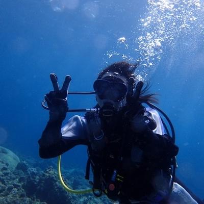 専属ガイドが付くので安心! 宮古島の海で...の写真
