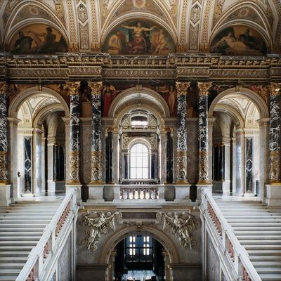 美術史博物館 午後観光 ヨーロッパ3大美...の写真
