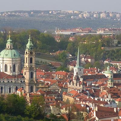 美しいマラーストラナ地区とプラハの塔巡り...の写真