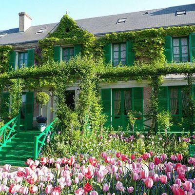 専用車で行く 『睡蓮』で有名なモネの家と...の写真