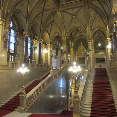 国会議事堂見学と城塞都市ペストの歴史探訪...の写真
