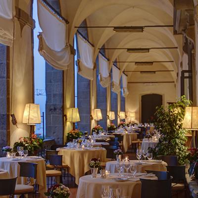 2つの絶景スポットから望むフィレンツェの...の写真