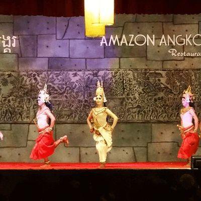 カンボジアの伝統舞踊を楽しもう アプサラ...の写真