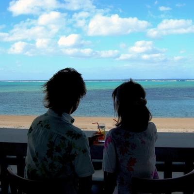 [本島 美ら海水族館近く] ビーチサイド...の写真