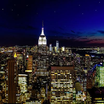 百万ドルの夜景とディナーツアーの写真