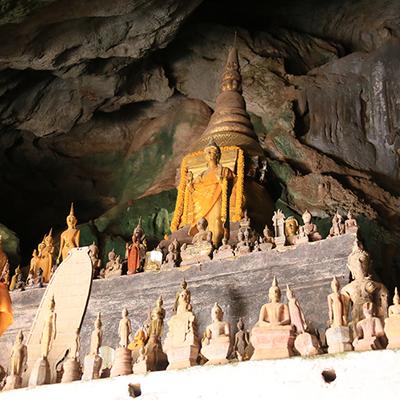 パクオー洞窟と酒作りの村 サンハイ村の写真