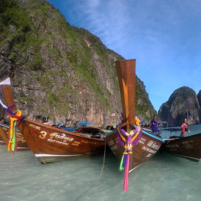 ピピ島 + バンブー島日帰りツアー 人気...の写真