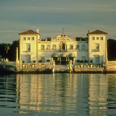 海辺の宮殿ビスカヤ・パレスとマイアミいい...の写真
