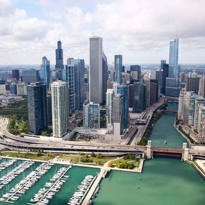 【ウィリスタワーの展望台入場付き】シカゴ...の写真