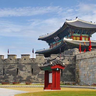 [全日][世界遺産]水原華城 & 韓国民...の写真