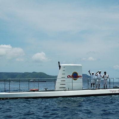 オデッセイサブマリン潜水艦で行く海底大冒...の写真