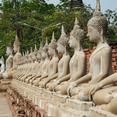 バンコク市内観光 + アユタヤ遺跡観光の写真