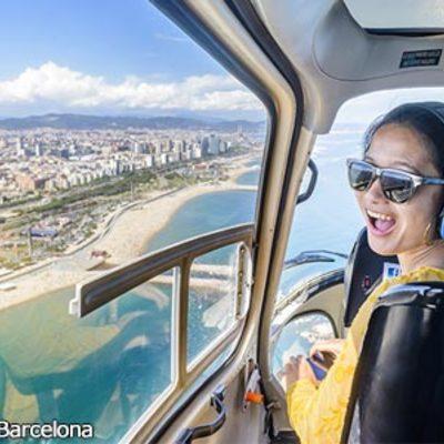 バルセロナを空からも、海からも!!「バル...の写真