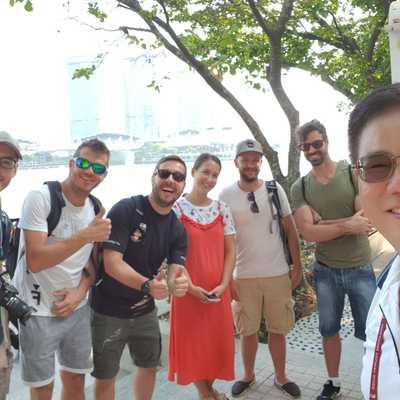 シンガポールウォーキングツアー:五感のハ...の写真