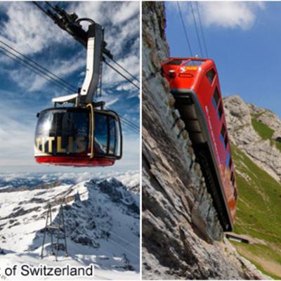 中央スイスハイライト1泊2日 ~ピラトゥ...の写真