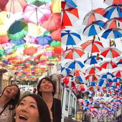 【7月~9月限定】 アゲダの傘祭りとオビ...の写真