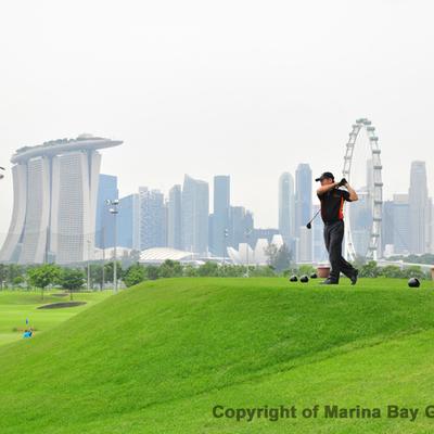 マリーナベイゴルフコースの写真