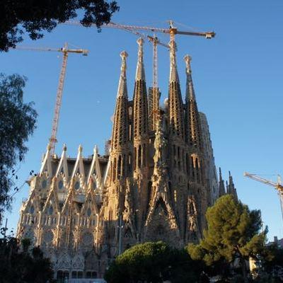 サグラダファミリア入場!王道のバルセロナ...の写真